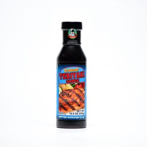 Bottle of teriyaki sauce