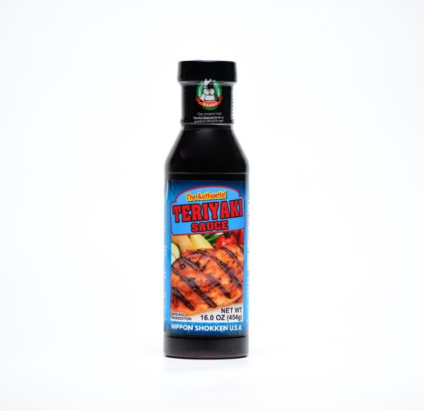 Bottle of teriyaki sauce