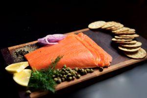 Kobe smoked salmon