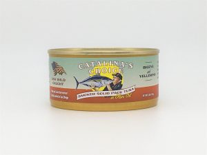 Catalina's Choice Canned Tuna in Olive Oil, Smoked